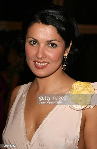 Anna Netrebko during LA Opera Afterparty for the Opening of Manon September 30 2006 at LA Opera in Los Angeles California United States
