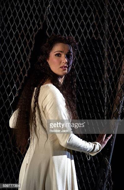 Anna Netrebko in the Royal Opera's production of Rigoletto at the Royal Opera House, Covent Garden. Composer: Giuseppe Verdi.