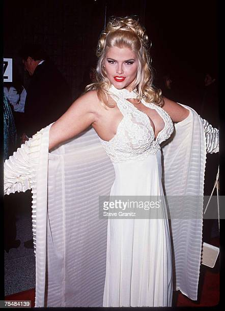 Anna Nicole Smith at the Avco Cinema in Westwood California