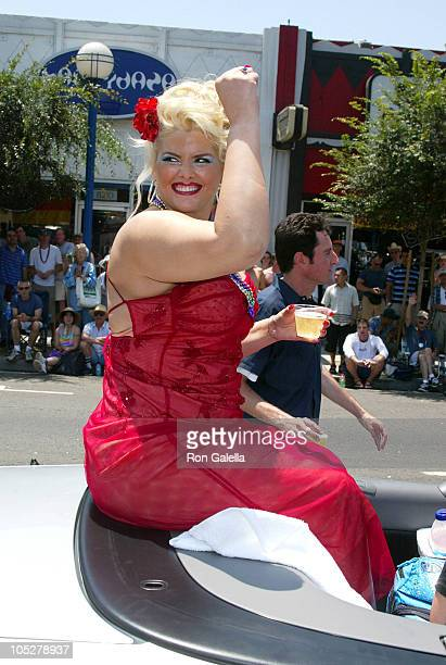 Anna Nicole Smith during 32nd Annual LA LGBT Pride Celebration presented by Christopher Street West at Santa Monica Blvd in West Hollywood California...