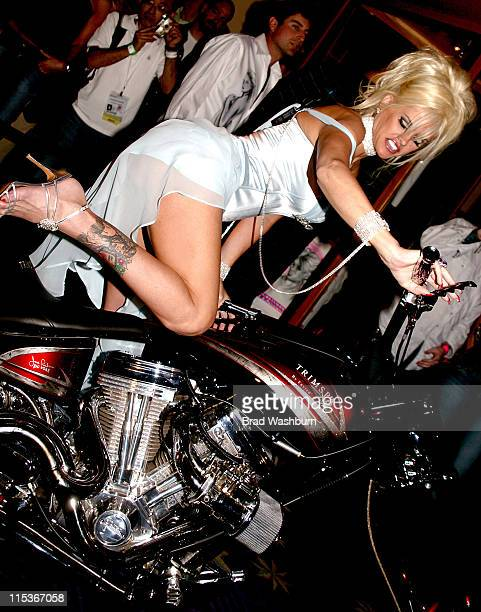 Anna Nicole Smith during Anna Nicole Smith Party to Launch her New Clothing Line at Body English Night Club at the Hard Rock Hotel in Las Vegas...