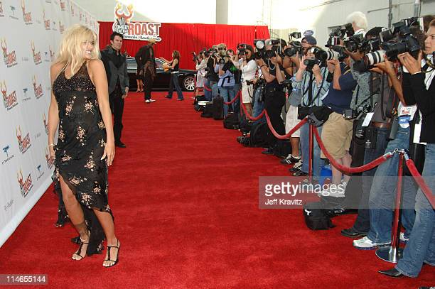 Anna Nicole Smith during Comedy Central Roast of Pamela Anderson - Red Carpet at Sony Studio in Culver City, California, United States.