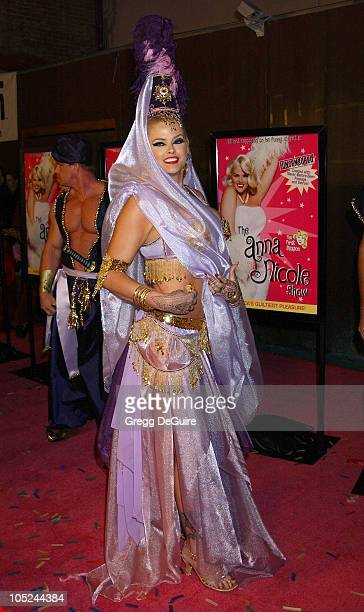 """Anna Nicole Smith during """"The Anna Nicole Smith Show: Season One"""" DVD Launch Party at Ivar in Hollywood, California, United States."""