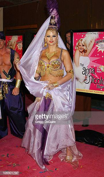 Anna Nicole Smith during The Anna Nicole Smith Show Season One DVD Launch Party at Ivar in Hollywood California United States