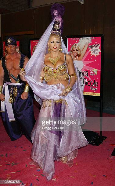 Anna Nicole Smith during 'The Anna Nicole Smith Show Season One' DVD Launch Party at Ivar in Hollywood California United States