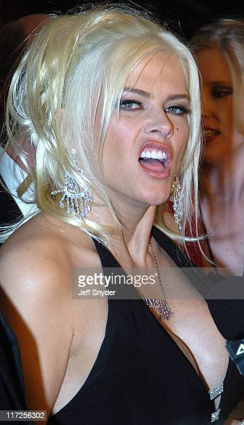 Anna Nicole Smith during The Barnstable Brown Party at Private Residence in Louisville KY