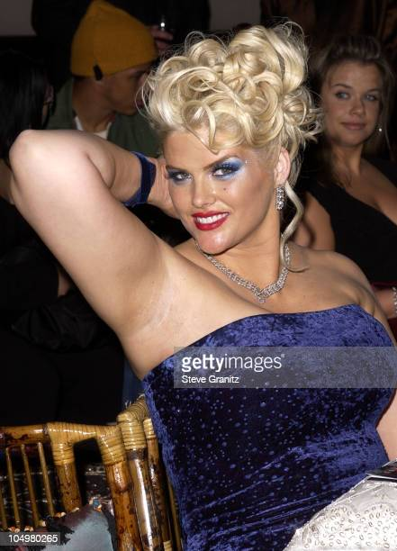 Anna Nicole Smith during Vanity Fair Toasts Guess In Celebration Of The Dream Denim Makers 20th Anniversary at The Wilshire Ebell Theatre in Los...