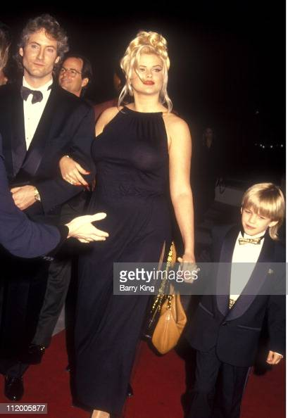 Anna Nicole Smith  Son Daniel And Guest During -7616