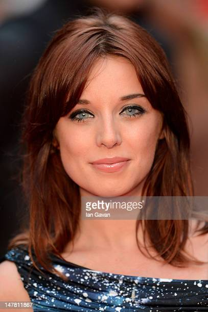 Anna Nightingale attends the European Premiere of 'Katy Perry Part Of Me' at Empire Leicester Square on July 3 2012 in London England