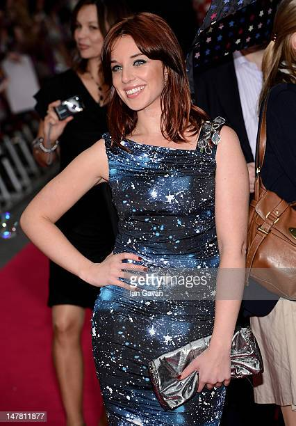 Anna Nightingale attends the European Premiere of 'Katy Perry Part Of Me' at Empire Leicester Square on July 3, 2012 in London, England.