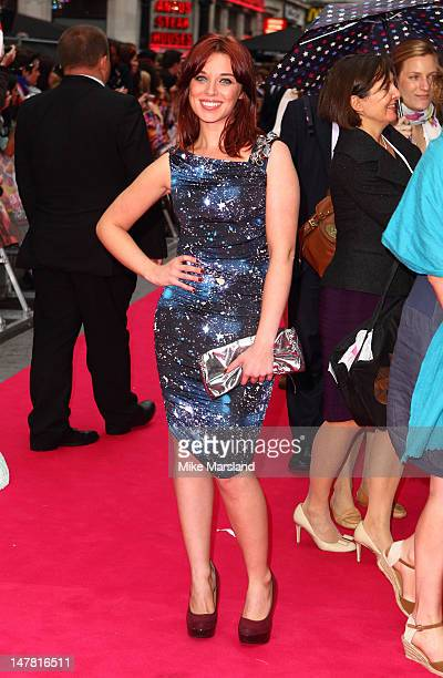Anna Nightingale attends the European premiere of Katy Perry Part Of Me 3D at Empire Leicester Square on July 3 2012 in London England