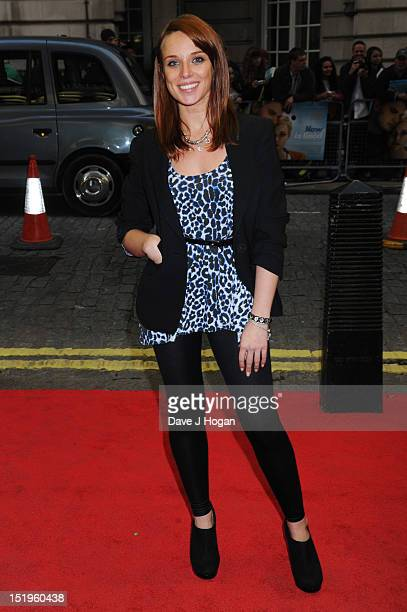 Anna Nightingale attends the Now Is Good UK Film Premiere at The Curzon Mayfair on September 13 2012 in London England