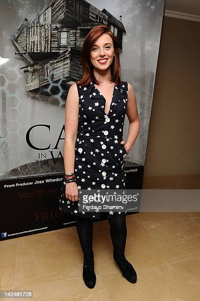 Anna Nightingale attends the premiere of 'The Cabin In The Woods' at The Mayfair Hotel on April 5 2012 in London England