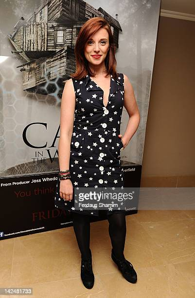 Anna Nightingale attends the premiere of 'The Cabin In The Woods' at The Mayfair Hotel on April 5, 2012 in London, England.