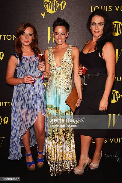 Anna Nightingale, Emma Conybeare, and Grainne Mccoy attend The Bling Ring Party hosted by Louis Vuitton during the 66th Annual Cannes Film Festival...