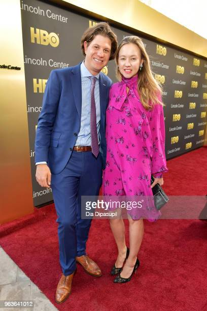 Anna Nikolayevsky and guest attend Lincoln Center's American Songbook Gala at Alice Tully Hall on May 29 2018 in New York City