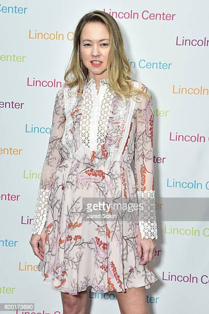 Anna Nikolayevsky attends Lincoln Center's 2016 Fall Gala at Jazz at Lincoln Center on November 1 2016 in New York City