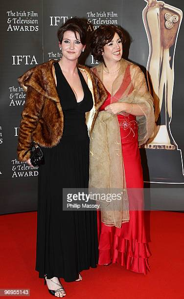 Anna Nolan and guest attend The Irish Film Television Awards on February 20 2010 in Dublin Ireland