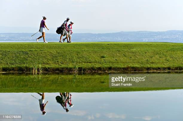 Anna Nordqvist of Sweden during day 2 of the Evian Championship at Evian Resort Golf Club on July 25 2019 in EvianlesBains France
