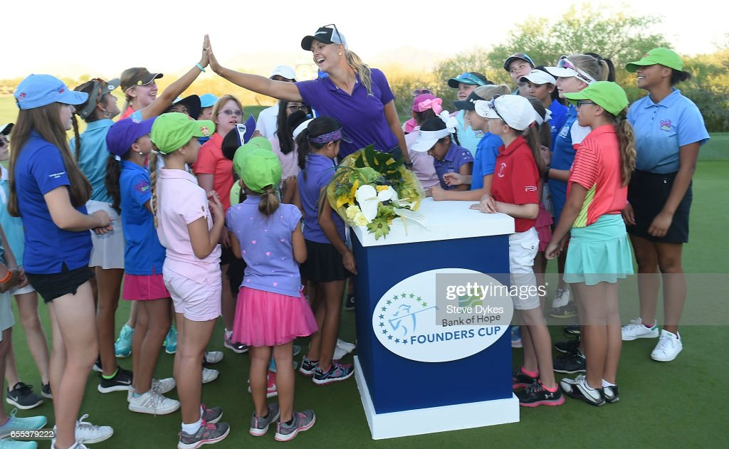 Bank Of Hope Founders Cup - Final Round : News Photo