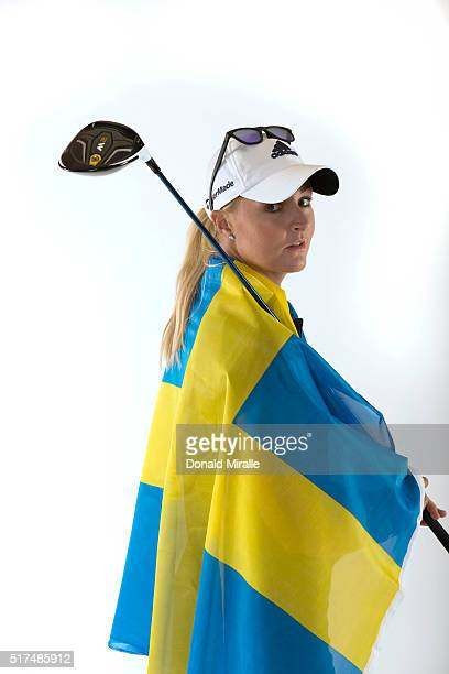 Anna Nordqvist of Sweden poses for a portrait during the KIA Classic at the Park Hyatt Aviara Resort on March 22 2016 in Carlsbad California