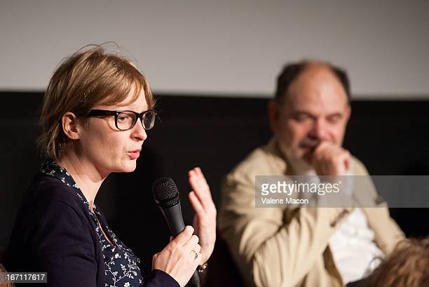 Anna Novion and JeanPierre Darroussin attends 17th Annual City Of Lights City Of Angels Film Festival at Directors Guild Of America on April 20 2013...