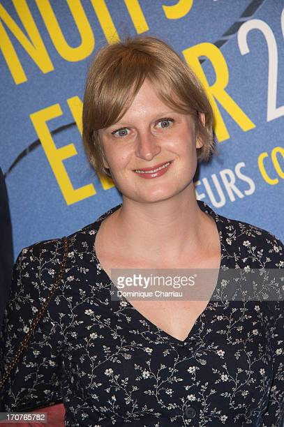 Anna Novion attends 'The Panorama 2013' photocall hosted by Academie des Cesar at UNESCO on June 17 2013 in Paris France
