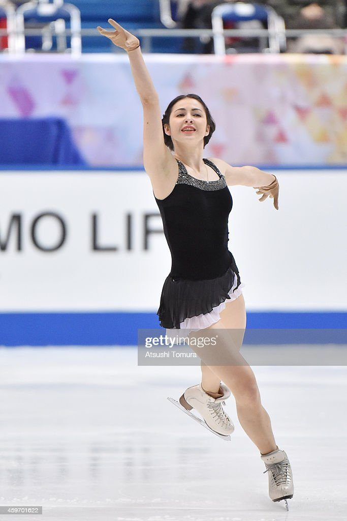 Anna Ovcharova of Switzerland competes in the Ladies Free Program during day two of ISU Grand Prix of Figure Skating 2014/2015 NHK Trophy at the Namihaya Dome on November 29, 2014 in Osaka, Japan.