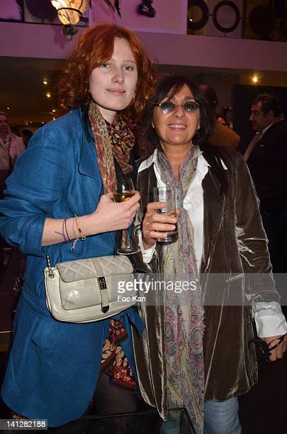 Anna Pahlavi and Ani AttiasÊattend the 'Jamila Jam' Exhibition Launch At L'Eclaireur on March 13 on March 13 2012 in Paris France