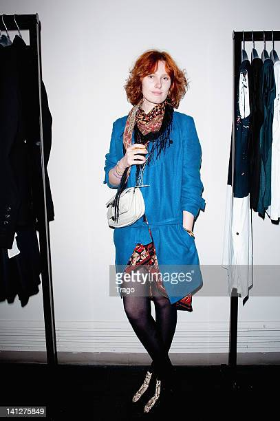 Anna Pahlavi attends 'Jamila Jam' Exhibition Launch at L'Eclaireur on March 13 2012 in Paris France