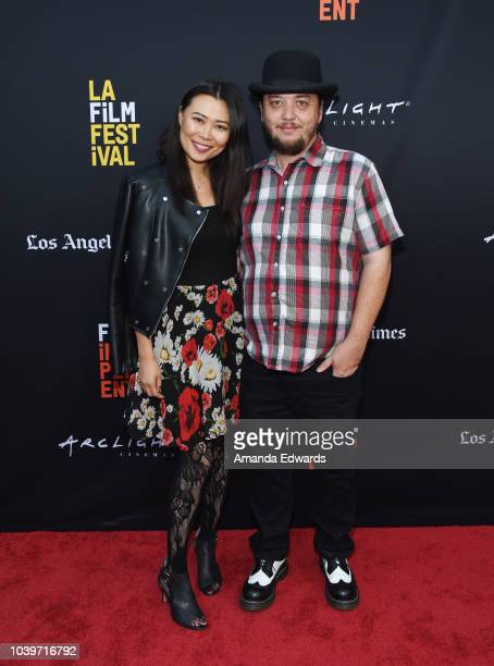 Anna Pan and Craig Obligacion Wilson attend the 2018 LA Film Festival Project Involve Shorts screening event at the ArcLight Hollywood on September...