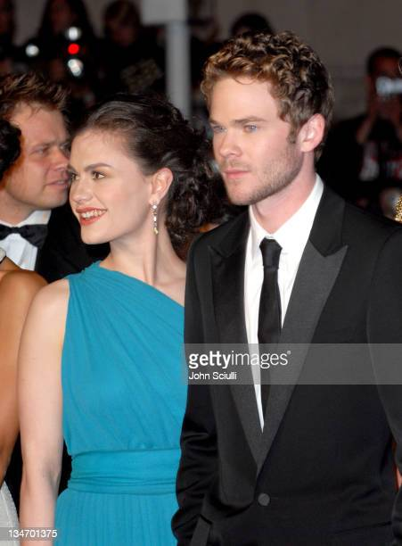 Anna Paquin and Shawn Ashmore during 2006 Cannes Film Festival 'XMen 3 The Last Stand' Premiere at Palais des Festival in Cannes France