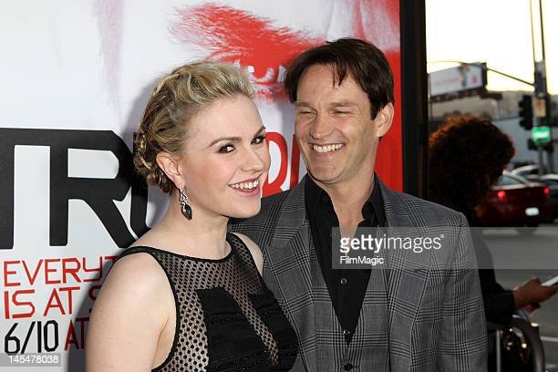 """Anna Paquin and Stephen Moyer attend the Direct TV Winners At HBO's Season 5 Premiere Of """"True Blood"""" at ArcLight Cinemas Cinerama Dome on May 30,..."""