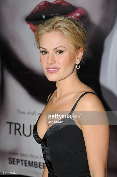 Anna Paquin attends HBO's premiere of 'True Blood' on September 4 2008 in Hollywood California