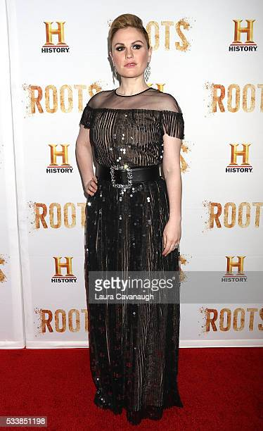 Anna Paquin attends 'Roots' Night One Screening at Alice Tully Hall Lincoln Center on May 23 2016 in New York City