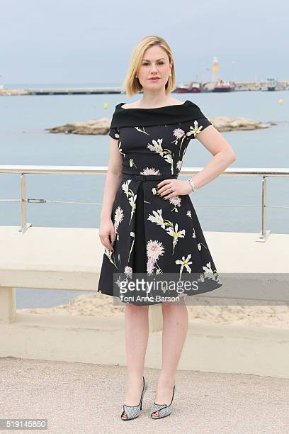 Anna Paquin attends 'Roots' Photocall as part of MIPTV 2016 on April 4 2016 in Cannes France