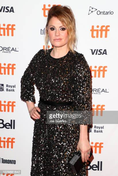 Anna Paquin attends 'Tell It To The Bees' premiere during 2018 Toronto International Film Festival at Winter Garden Theatre on September 9 2018 in...