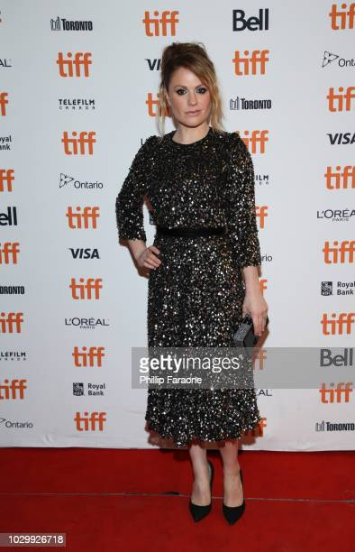 Anna Paquin attends Tell It To The Bees premiere during 2018 Toronto International Film Festival at Winter Garden Theatre on September 9 2018 in...