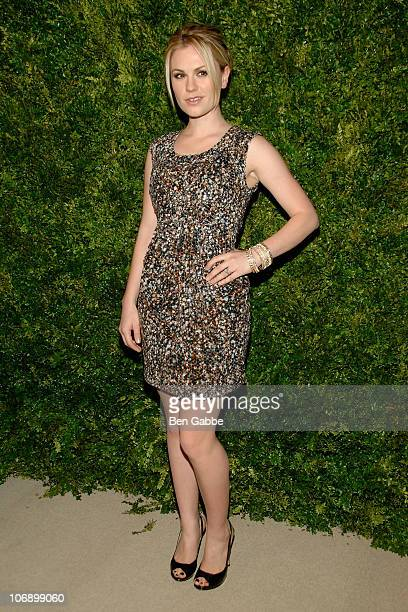 Anna Paquin attends the 7th Annual CFDA/Vogue Fashion Fund Awards>> at Skylight SOHO on November 15 2010 in New York City