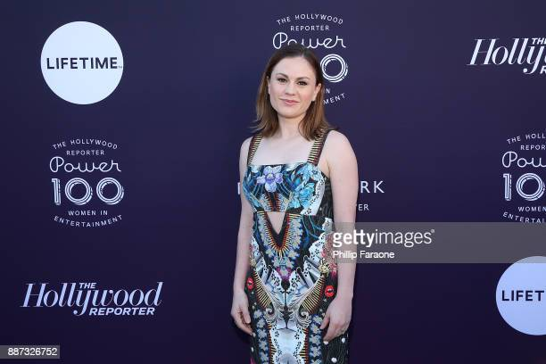 Anna Paquin attends the Hollywood Reporter/Lifetime WIE Breakfast at Milk Studios on December 6 2017 in Hollywood California
