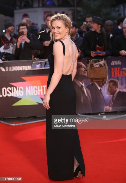 Anna Paquin attends The Irishman International Premiere and Closing Gala during the 63rd BFI London Film Festival at the Odeon Luxe Leicester...