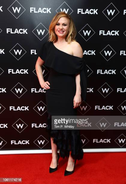 Anna Paquin attends the Premiere of UKTV's new series 'Flack' at Ham Yard Hotel on November 13 2018 in London England