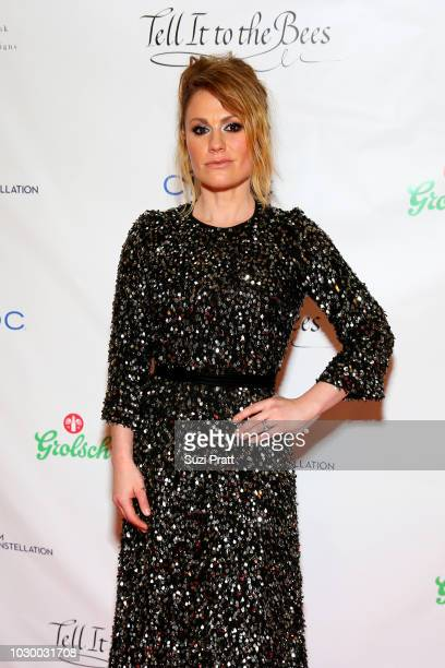 Anna Paquin attends the 'Tell It To The Bees' world premiere presented by Film Constellation during 2018 Toronto International Film Festival at House...