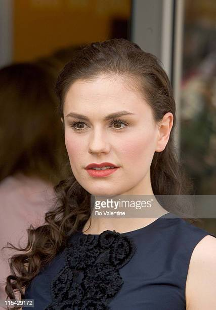 Anna Paquin during 2006 Cannes Film Festival Opening of the American Pavilion at American Pavilion in Cannes United States