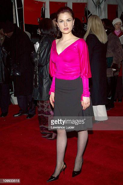 Anna Paquin during 25th Hour World Premiere at Ziegfeld Theater in New York New York United States