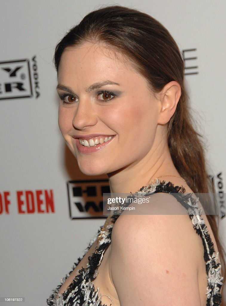 Anna Paquin during 6th Annual Tribeca Film Festival - Premiere of 'Gardener Of Eden' - After Party at Marquee in New York City, New York, United States.