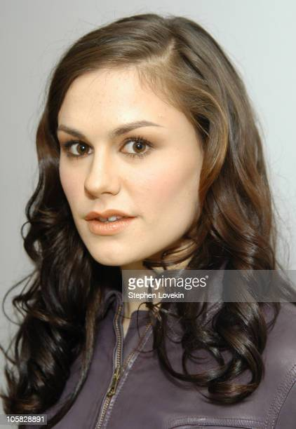 Anna Paquin during Anna Paquin Visits MTV's TRL December 22 2004 at MTV Studios in New York City New York United States