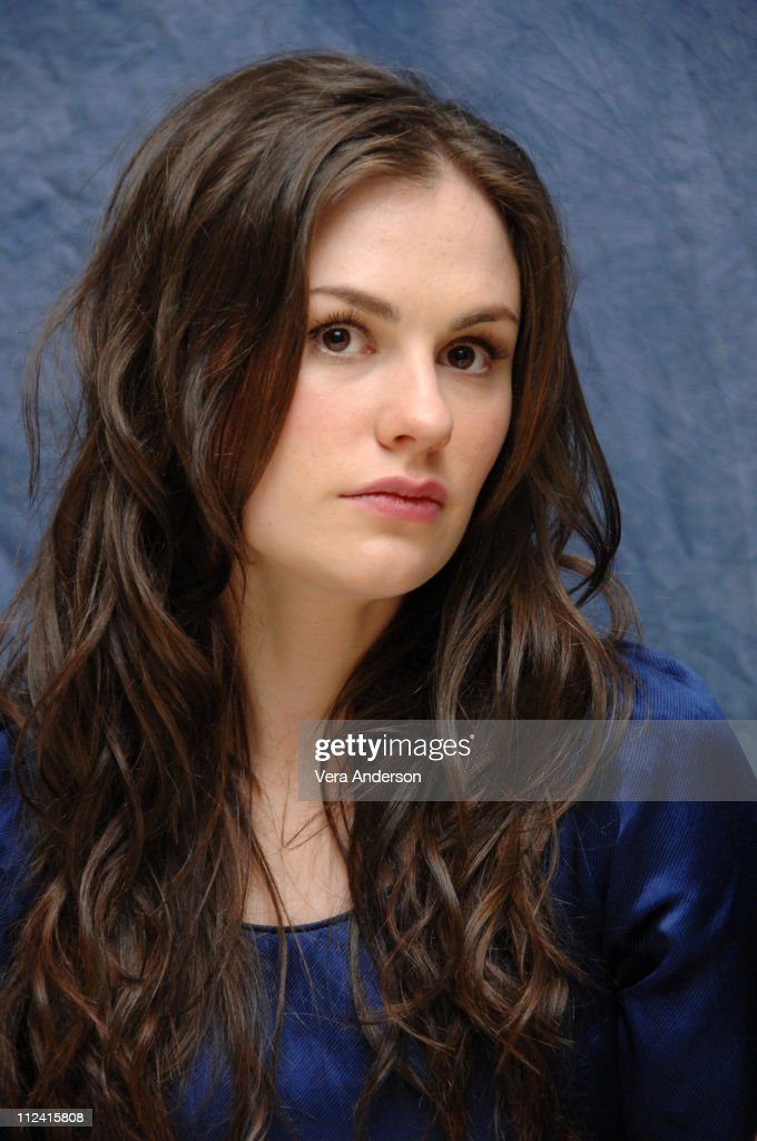 Anna Paquin During Bury My Heart At Wounded Knee Press Conference With