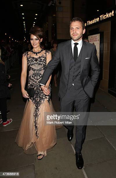 Anna Passey and Nick Rhys attending the British Soap Awards at the Palace Theatre on May 16 2015 in Manchester England