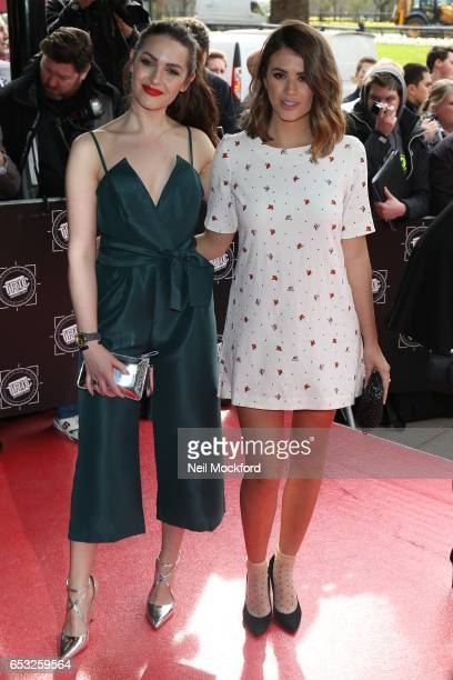 Anna Passey and Sophie Porley attend the TRIC Awards 2017 on March 14 2017 in London United Kingdom